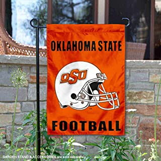 College Flags and Banners Co. Oklahoma State Cowboys Football Helmet Garden Flag
