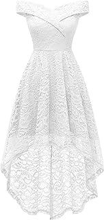 Women's Wedding Formal Casual Dresses Off Shoulder...