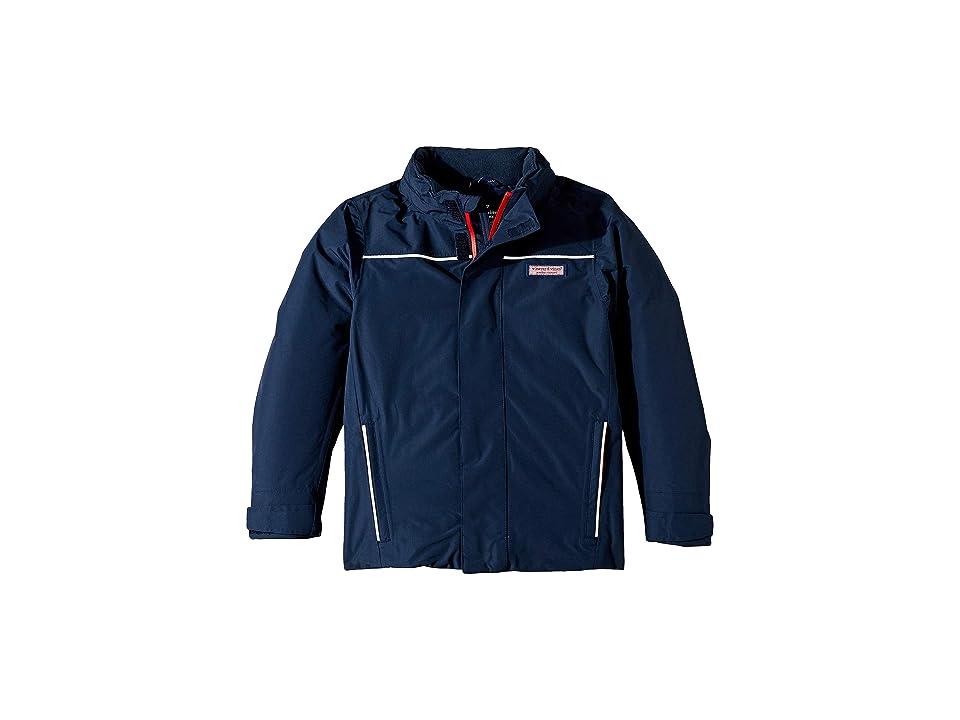 Vineyard Vines Mountain Weekend Jacket Seal Blue Mens Coat