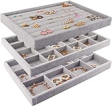 Best velvet jewelry organizer trays Reviews