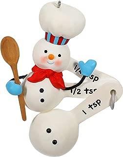 Keepsake Christmas 2019 Year Dated Cuteness Beyond Measure Baking Snowman Ornament