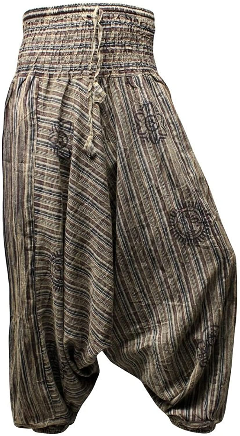 Shopoholic Fashion Men Women Unisex Hippie Gypsy Alladin Harem Trouser Pants