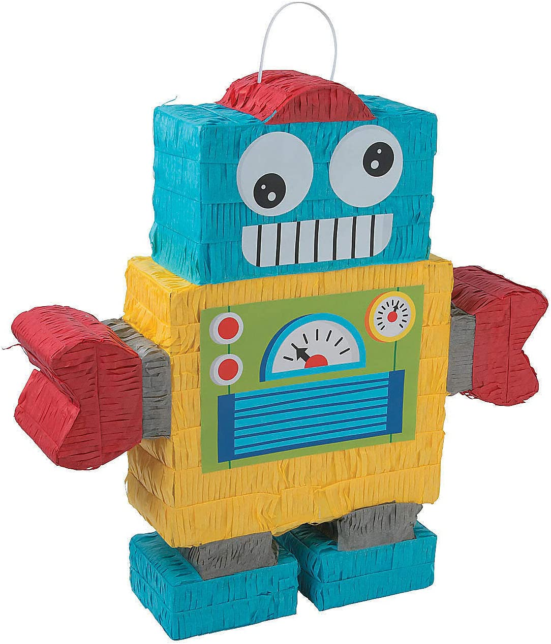 Robot Party Pinata - Piece Super beauty product restock quality top! Decor Cheap mail order specialty store 1