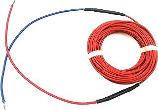 DZF697 1pc 0,25 m Fil Froid Connexion 12K 33OHM FLUOROPLASTIC FIBLE DE Chauffage DE Chauffage CÂBLAGE ÉLIMIER ELECTURE ELE...