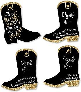 Drink If Game - Nash Bash - Nashville Bachelorette Party Game - 24 Count