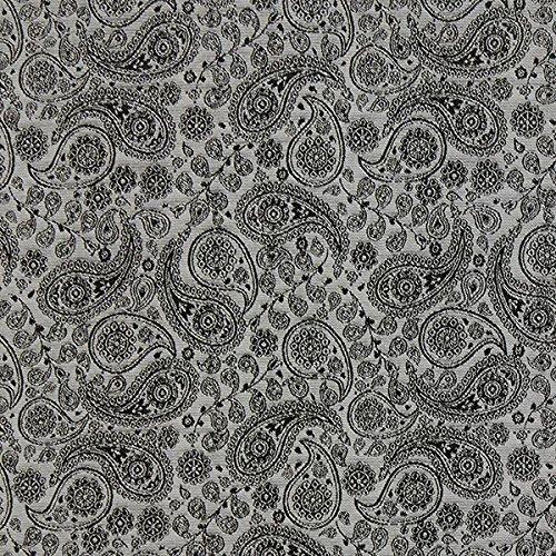 Fabulous Fabrics Futterstoff grau, 145cm breit – zum Füttern von Jacken, Kleidern oder Mänteln - Meterware erhältlich ab 0,5 m