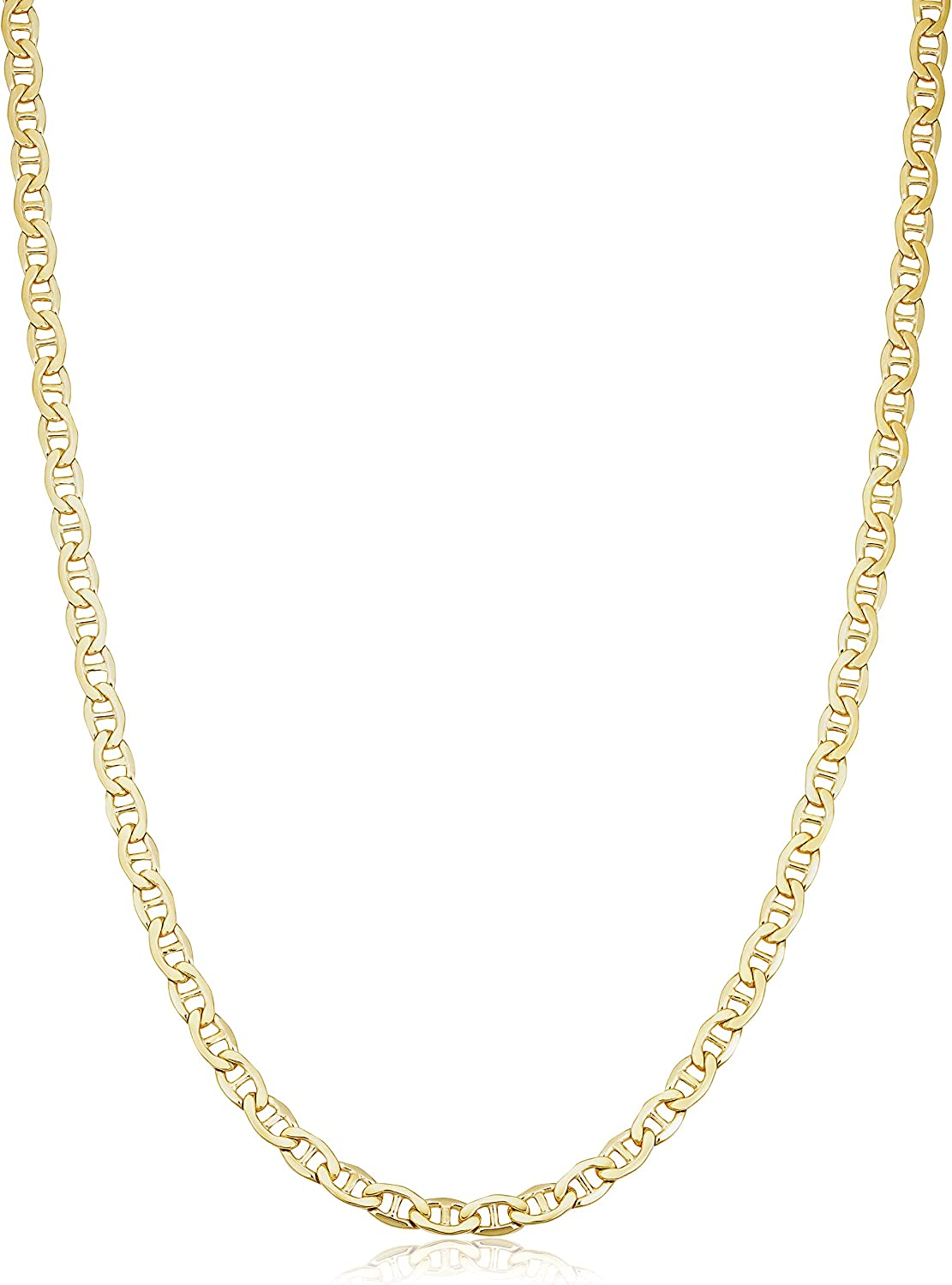 Solid 14k Yellow Gold Max 59% OFF Filled Super intense SALE Mariner Necklace for Chain Link Men