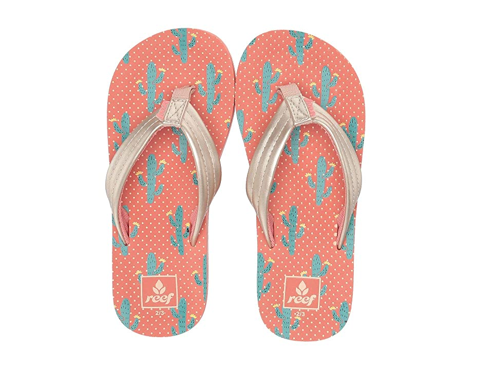Reef Kids Ahi (Little Kid/Big Kid) (Cactus) Girls Shoes