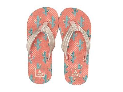 Reef Kids Ahi (Little Kid/Big Kid) (Cactus) Girls Shoes