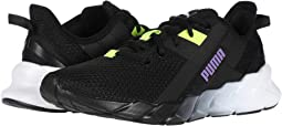 Puma Black/Luminous Purple/Yellow Alert