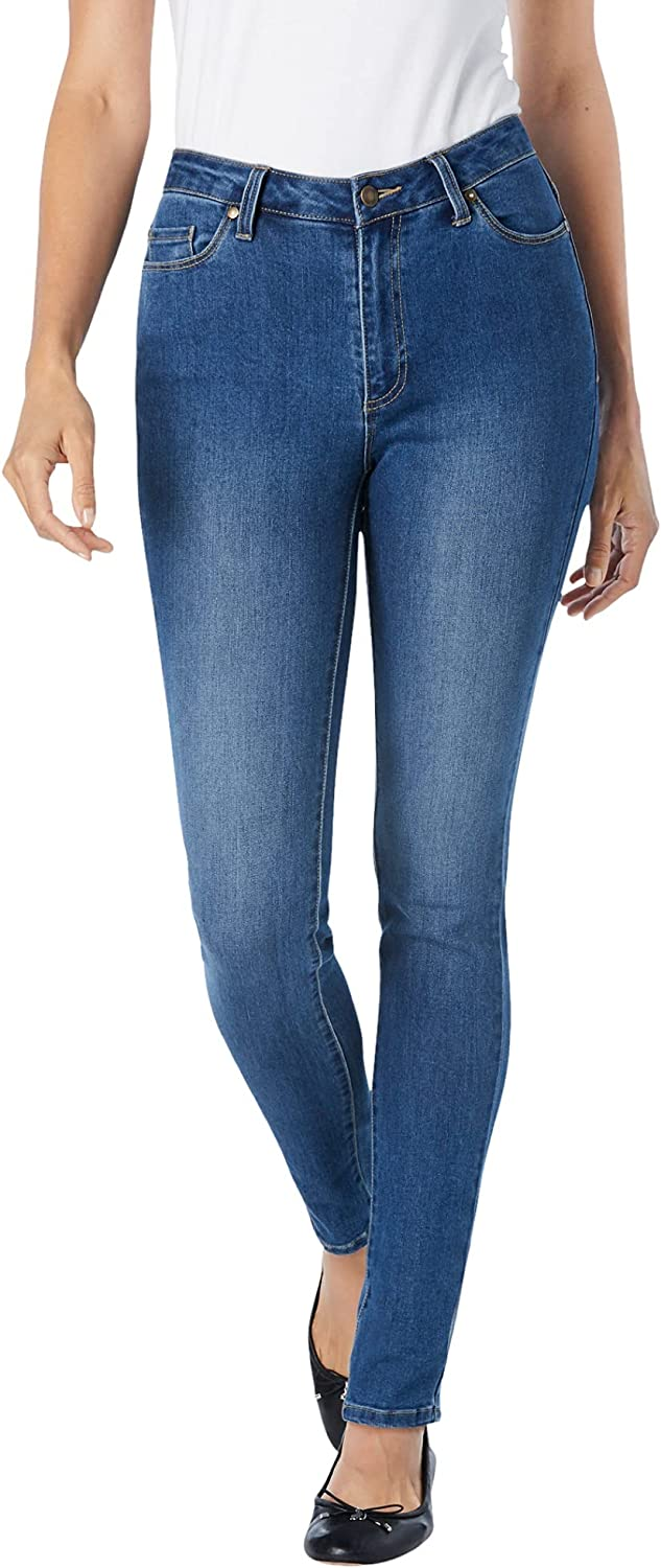 Woman Within Women's Plus Size Tall Perfect Skinny Jean
