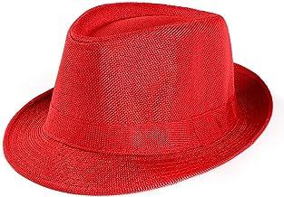 Fannyfuny Gorra Hombre Gorras Mujer Sombrero Verano Unisex SombrerosFiesta Viseras Sombrero para el Sol Sombrero Elegante de Fiesta Sombreros de Paja para Hombre