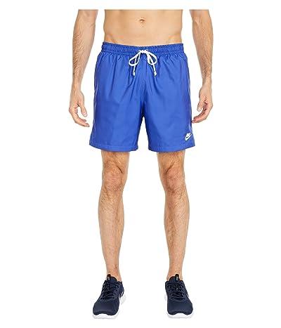 Nike NSW Woven Flow Shorts (Astronomy Blue/White) Men