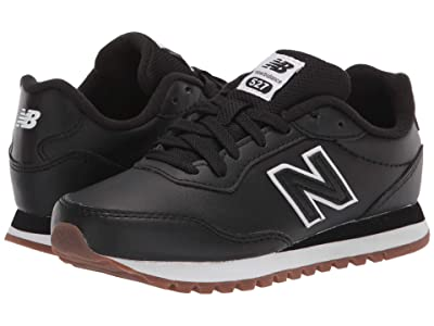 New Balance Kids 527 (Little Kid) (Black/Munsell White) Boy