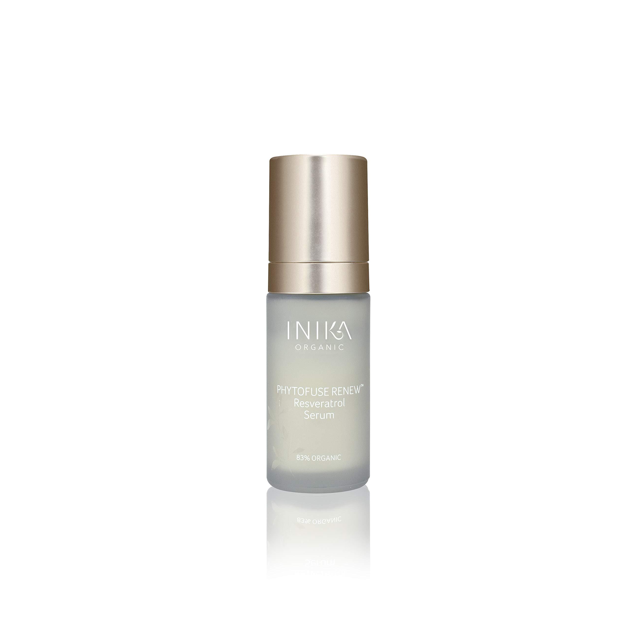 Inika Phytofuse Renew Resveratrol Serum Anti Aging Skin Radiance