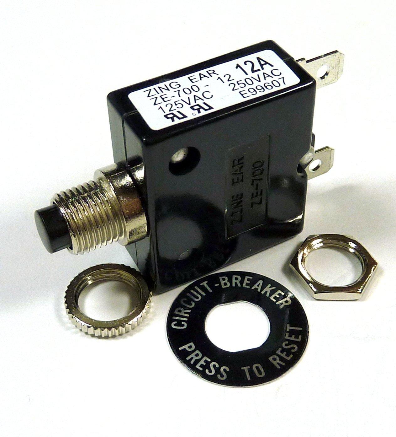 12 Recommended Popular popular AMP 50VDC BREAKER 250VAC CIRCUIT