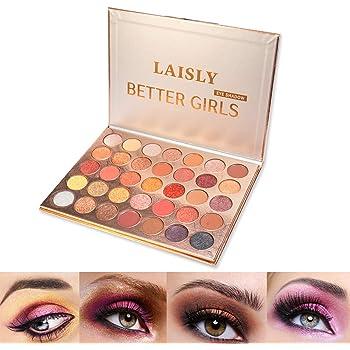 ONLYOILY Paleta De Sombras De Ojos Profesionales - Paleta Maquillaje - Altamente Pigmentados 35 Colores Brillantes y Mate: Amazon.es: Belleza