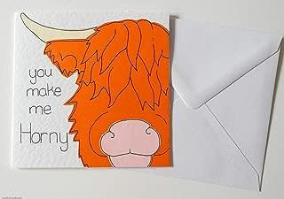 You Make Me Horny Valentine/Anniversary/Birthday/Love Card