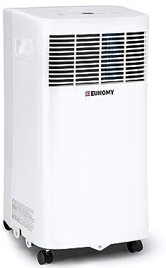 EUHOMY 8,000 BTU Portable Air Conditioner Dehumidifier, portable ac unit with Remote Control, floor air conditioner with Wind