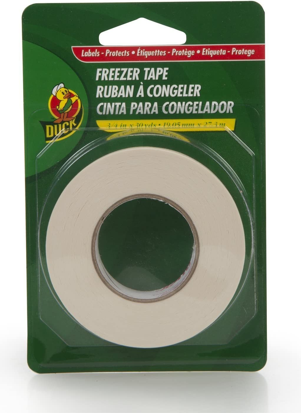 Duck Brand Single Roll Write-On Tape New sales Freezer PACK New Orleans Mall 3 White