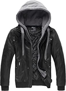 mens leather jacket under 500
