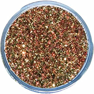 Snazaroo Face and Body Paint Glitter Dust, 12ml, Red Gold
