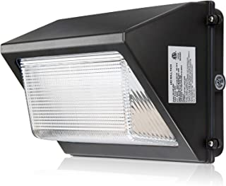 LED Wall Pack Light Fixture with Photocell Dusk-to-Dawn Outdoor Security Area Lights Commercial Building Floodlights,IP65 ...