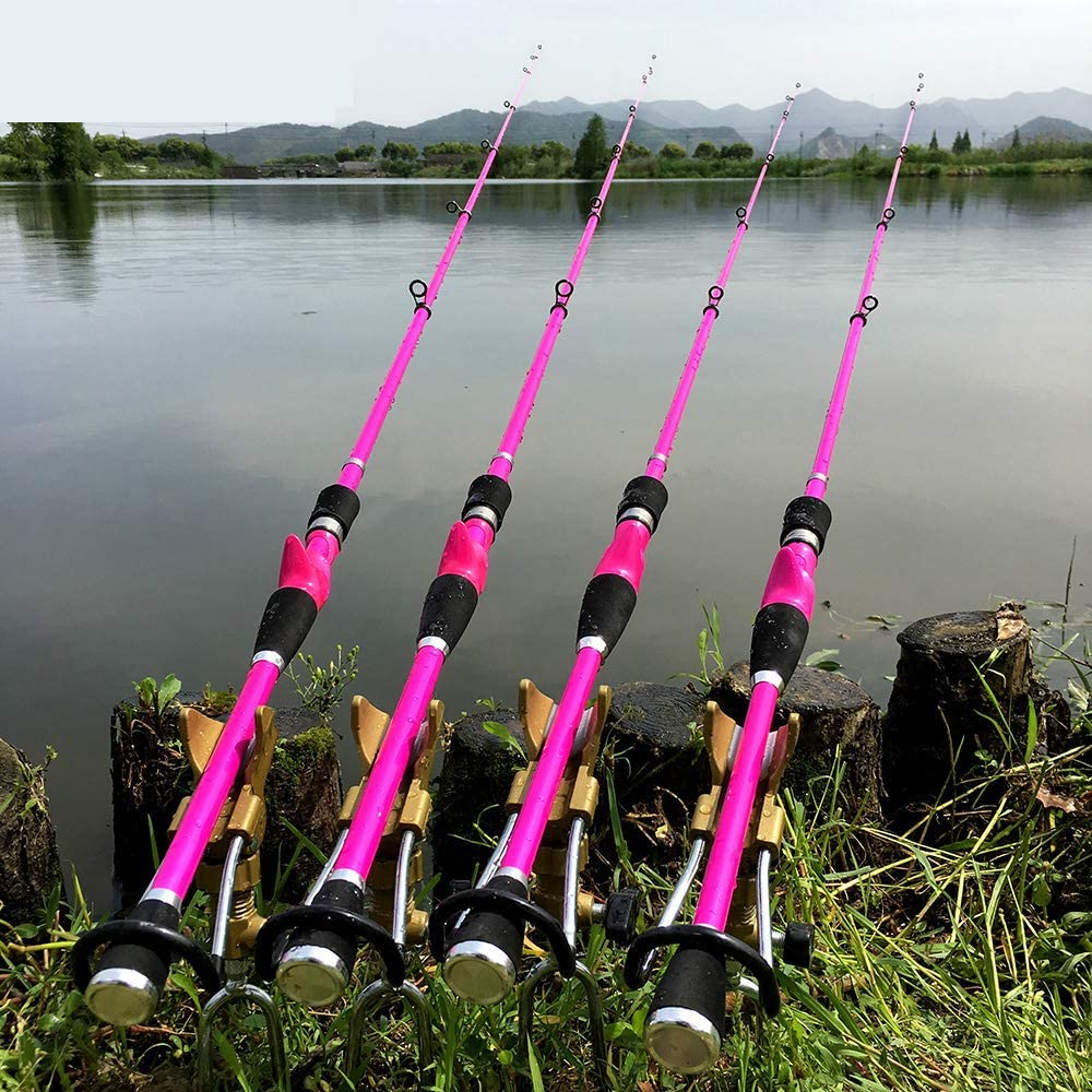 Ca/ñas De Pescar BLTLYX Casting 2.4m//2.1m//1.8m Baitcasting Se/ñuelo Telesc/ópico