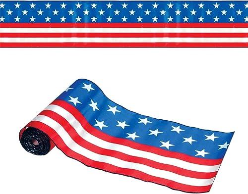precio al por mayor Beistle Company patriótico camino de mesa mesa mesa Accesorio de Fiesta  promociones de descuento