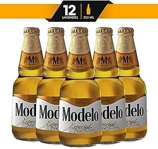 Cerveza Clara, Modelo Especial, 12 botellas de 355 ml c/u