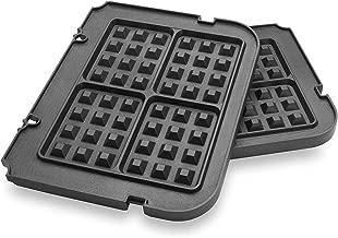 cuisinart elite griddler waffle plates