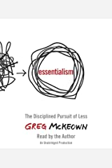 Essentialism: The Disciplined Pursuit of Less CD