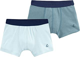 Boy's Stretch Cotton-Linen Boxer Shorts Gift Boxed- Set of 2 Sizes 2-12 Style 48636