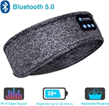 Sleep Headphones Bluetooth Headband,Upgrage Soft Sleeping Wireless Music Sport Headbands,..