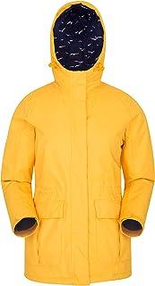 Mountain Warehouse Portobello Waterproof Womens Jacket - Lightweight Coat, Breathable, Taped Seams Raincoat, Casual Top - ...