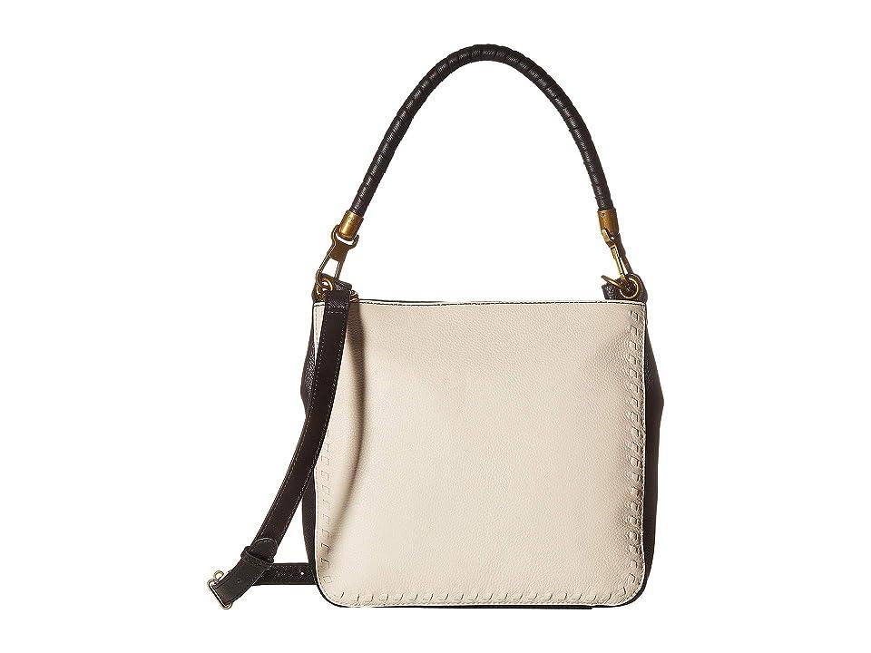 The Sak Estrada Three-Way Bucket by The Sak Collective (Black/White Block) Handbags