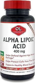 Olympian Labs Alpha Lipoic Acid 400mg, 60 Capsules
