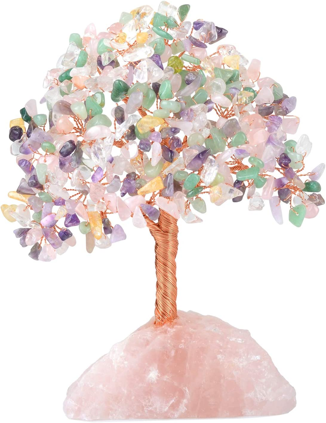 Crystal Tree Challenge the lowest price Quartz Cluster Crystals Now on sale Gemstone Rose Chakra