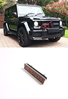 Brabus G700 style – Grille Badge Logo Emblem for Mercedes-Benz W463 G-Class vehicles