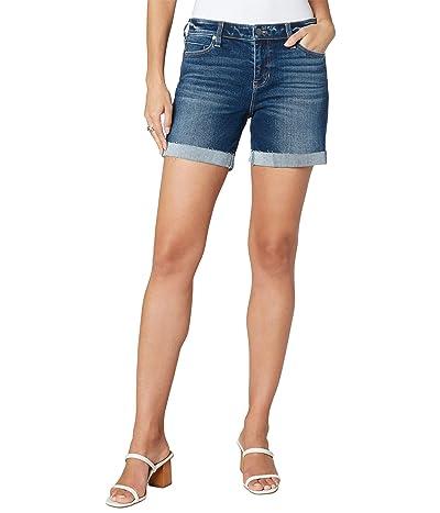 Liverpool Five-Pocket Single Cuff Shorts in Cypress Creek Women