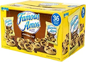 Famous Amos Chocolate Chip Cookies - 36/2 oz. by Famous Amos [Foods]