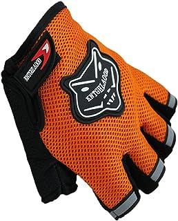 Malloom 1 PC Medio corto ciclismo dedo guantes de moto de verano