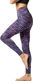 LAPASA Leggins Mujer Cintura Alta Fitness, Mallas de Deporte con Bolsillo, Pantalón Deportivo Elásticos y Transpirable, Le...