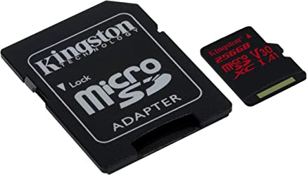 Kingston Digital SDCR/256GB Canvas React 256GB microSDXC...