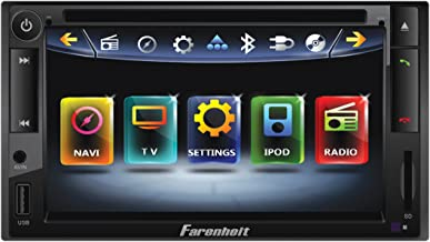 Farenheit TI-652NB Inteq Double DIN Multimeadia Indash Source with 6.5-Inch Screen