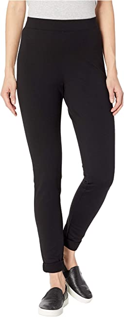 Fleece Lined High-Waist Ponte Leggings