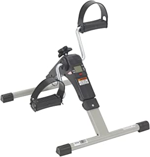 Drive Medical Deluxe Folding Exercise Peddler with Electronic Display, Black