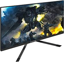 VIOTEK GFT27DB 27-Inch WQHD Gaming Monitor with Speakers, 1440p 144Hz 1ms, FreeSync & Works w/G-SYNC, TN Panel 115% sRGB, DP HDMIx3 VESA