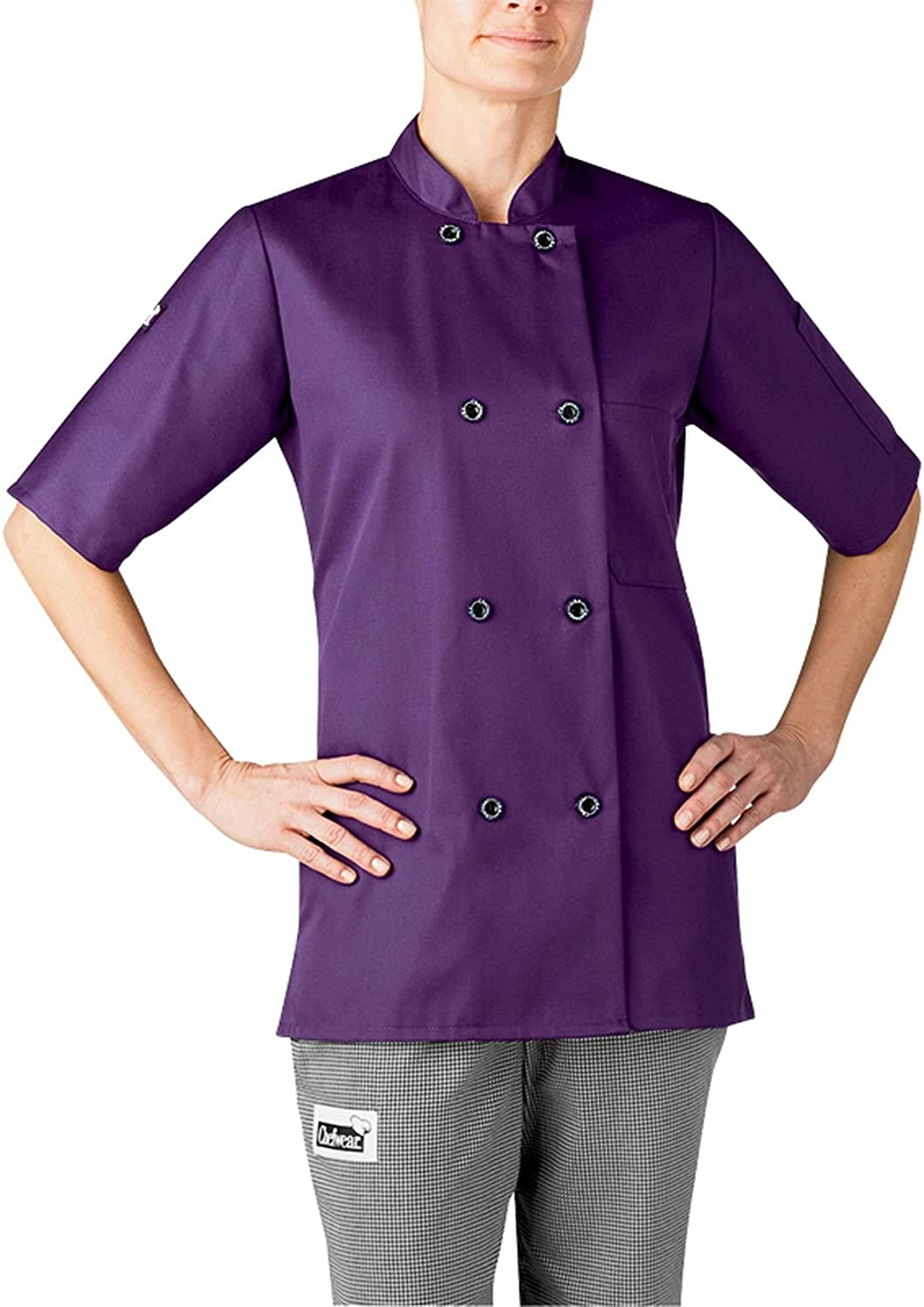 Chefwear 4465108 Women's Short Sleeve Chef Jacket