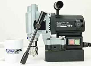 TYP-28A Mag Drill BLUEROCK Tools MINI Magnetic Drill Typhoon Small Mag Annular